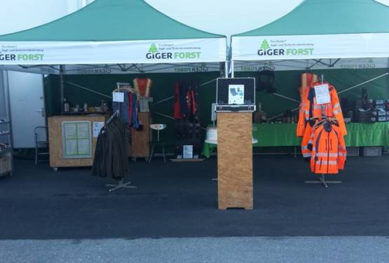 Giger Forst an der Agri-Messe Thun 2019