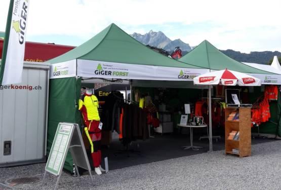 Giger Forst an der Forstmesse 2019 in Luzern